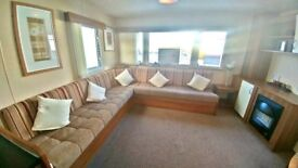 ***EXCELLENT PRE-OWNED STATIC CARAVAN FOR SALE WHITLEY BAY HOLIDAY PARK SITE FEES INCL UNTIL 2019***