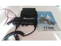 Midland CB radio Transmitter 77-099 - Retro