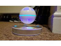 Levitating ice orb speaker (bluetooth)