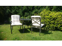 Great Condition 3 Piece Patio Set with Cushions