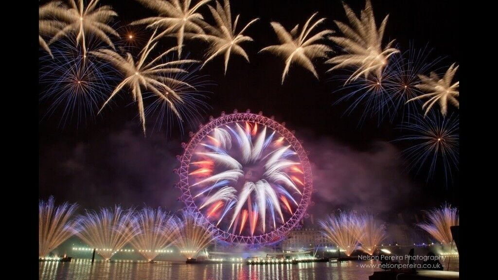 2 New Years Eve London Fireworks Tickets -