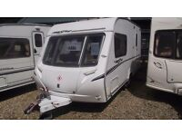 R&K CARAVANS 2007 ABBEY FREESTYLE 470/2 END BATHROOM, AWNING, MOVER, 12 MONTHS WARRANTY