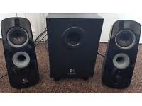 Like-New Logitech Speaker System
