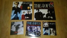 5 x the 4 of us - vinyl LP's songs for the tempted / man alive