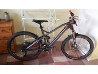 Canyon Nerve AL 8.0 Mountain Bike - Full Susp, 650b, Size L