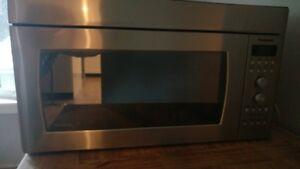 Panasonic genius prestige over the range..new microwave