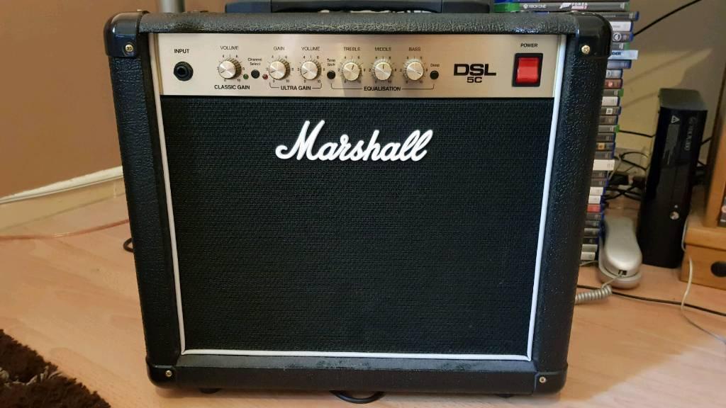 Marshall dsl5c valve guitar amp