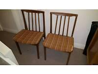 Pair of midcentury chairs