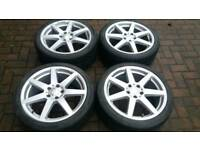 GENUINE MERCEDES BENZ 18 INCH ALLOY WHEELS 5X112 C CLASS E V CLASS VW VITO VANEO VIANO