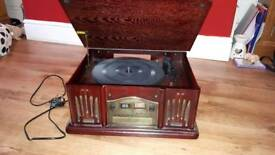 Record player c.d and radio now takeing offers