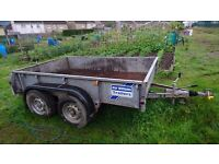 Ifor williams trailer. bed size 8x5. 2500kg