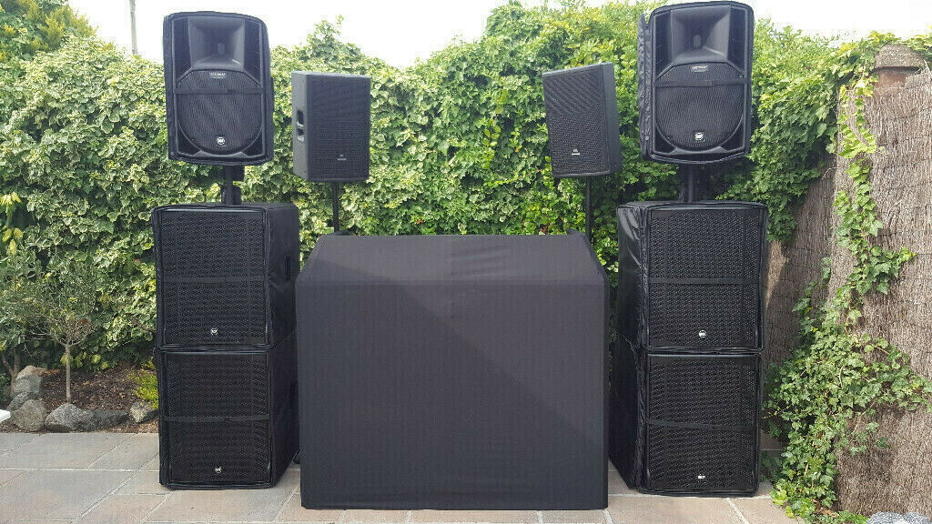 RCF SPEAKERS SUBWOOFERS 8003 & ART 745A MK4 JBL ELECTRO VOICE PA SYSTEM  MOBILE | in Grimsby, Lincolnshire | Gumtree