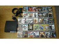 Playstation 3 bundle + 33 games and accessories