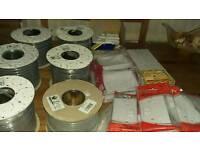 Electrical items job lot