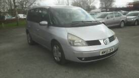 A 55plate 2.2dci expression 7seater automatic diesel mpv.