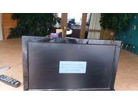 Flatscreen 19 inch tv