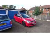 2004 HONDA CIVIC TYPE R EP3 LOW MILEAGE FSH 2 KEYS NEAR ORIGINAL MILANO RED NOT VXR ST GTI MODIFIED