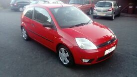 ford fiesta 03 reg 1.4 petrol 122000 will come with 12 months mot
