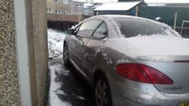 Peugeot 307cc convertable for spares or repairs