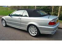 2001 BMW 330 CI CONVERTIBLE 109,000 MILES NEW MOT LOTS OF MONEY SPENT ON CAR STUNNING EXAMPLE