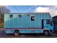 Man L2000 7.5t Horsebox lorry