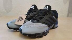 Adidas Marathon Tr 15 Men's Shoes In Grey/Black | UK Sizes: 6 & 7 | NEW WITH BOX