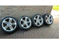 Audi Vw rs6 alloy wheels 18 inch pcd 5x100