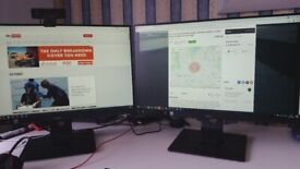 24 Inch Monitor, Purchased in Dec 20, Hardly used, I have purchased another one since