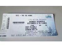 Ticket for sale - Disturbed