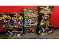 Extremely rare vintage Power Rangers Megazord collection - see description