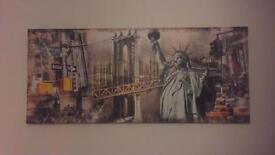 American Culture Canvas