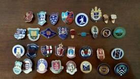 Vintage Bundle of Enamel Badges. £20.00