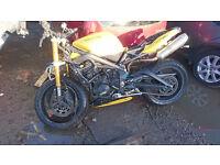 triumph speed triple 675 cc 2009