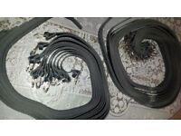 new mens leather belts black ,metal buckle i have job lot of 450 pcs