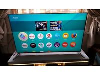 """PANASONIC 58"""" 58DX750B SUPER Smart 3D 4K HDR LED TV,built in Wifi,Freeview,GREAT Condition"""