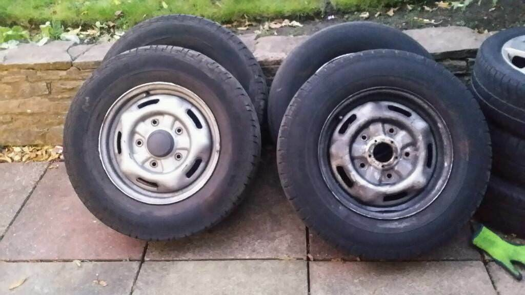 "Ford transit 16"" wheels"