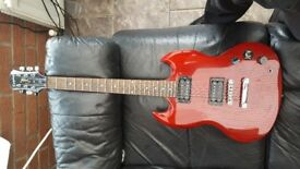 Epiphone SG special - cherry