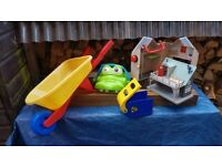 Toddlers toy bundle- wheelbarrow, croc etc ALL INCLUDED