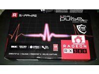 Sapphire RX580 Pulse 8GB