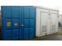 TO LET Self Storage Space available for Rent Lock up Garages Steel Shipping Container/Cabins Units