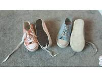 Girls shoes 10 and 11