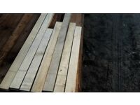 Maple floorboards