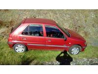 Peugeot 106 1.1 Zest 2 (W) 23,000miles