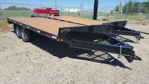 2016 Oasis Trailer Mfg Ltd HB20P Equipment Hauler Trailer
