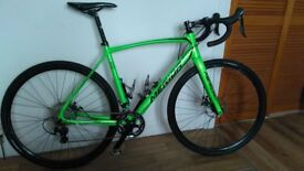 As NEW used once Merida 500 Cyclo-Cross Bike, FP £795 ~ Save over £400 ~ ABSOLUTE BARGAIN