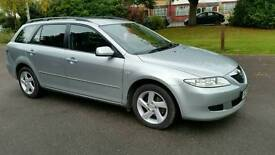 1 OWNER + CRUISE CONTROL + MAZDA 6 TS2 1999cc+5 DOOR+SILVER +HPI CLEAR+2 REMOTE KEYS+SERVICE HISTORY