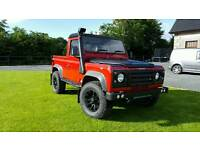 Land Rover Defender 90 TD5 2002 Truck Cab **LOTS OF EXTRAS**