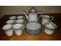 Princess house elegance coffee or tea set dinnerware very rare
