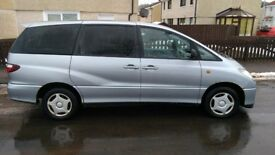 8 Seater Toyota Previa with MOT until November 2018