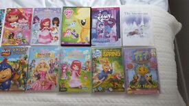 18 x childrens dvds